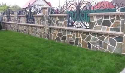 Piatra karisto verde gri